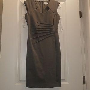Calvin Klein Grey Work Dress 2